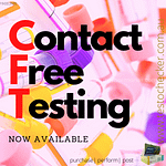 "INTERNAL PROMOTIONAL ""contact free hormone testing available"""