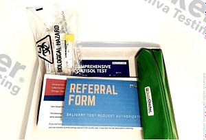 product image.hormone testing kit