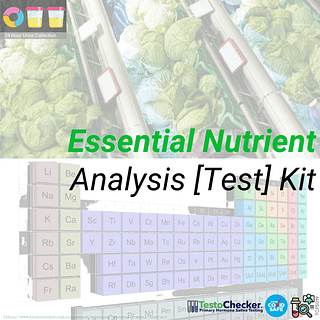checking nutrient levels