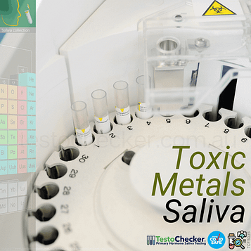 toxic metals test saliva